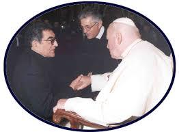 Papa con Ríos y Cerrato