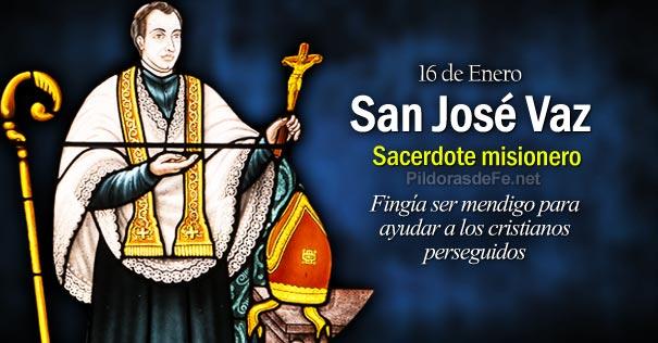 San José Vaz sacerdote